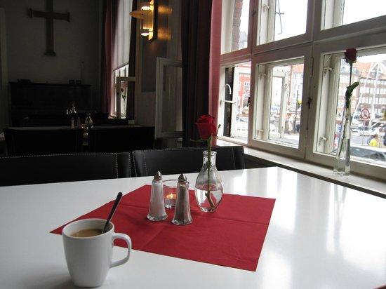 Somandshjemmet Bethel: Partial view of Nyhavn from breakfast room