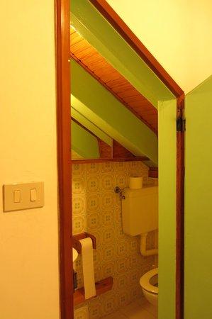 Albergo Casa Peron: Salle de bain