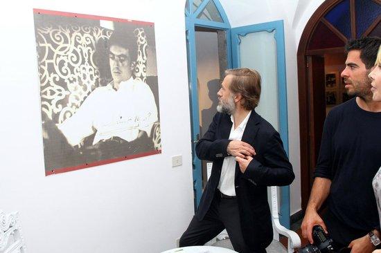 Luchino Visconti Museum - Villa La Colombaia : Il premio Oscar C. Waltz alla Colombaia