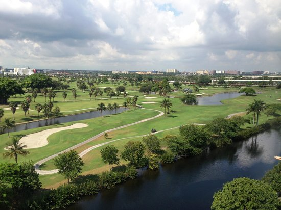 Sheraton Miami Airport Hotel & Executive Meeting Center : best views golf course 2