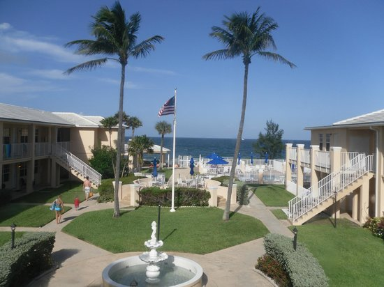 Gulfstream Manor Resort: view from room