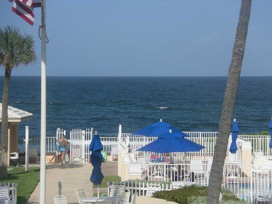Gulfstream Manor Resort: view from room