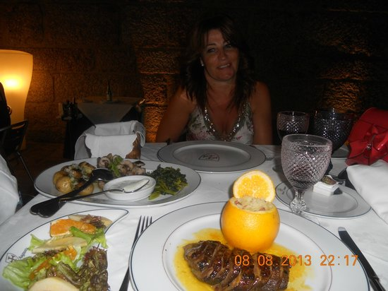 Centurium Restaurante : Magnifica Cena de Agosto en Braga