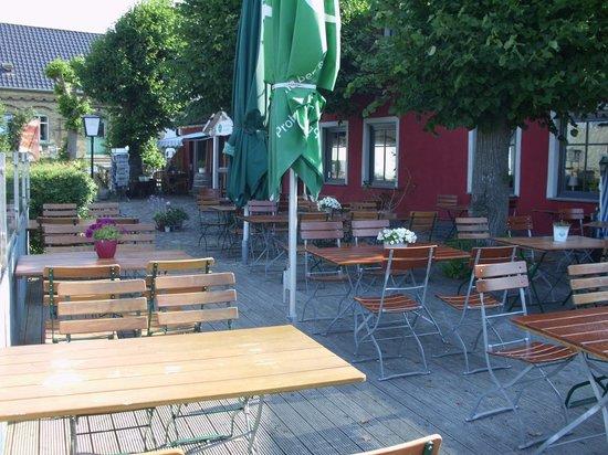Terrasse von Schillings Gasthof