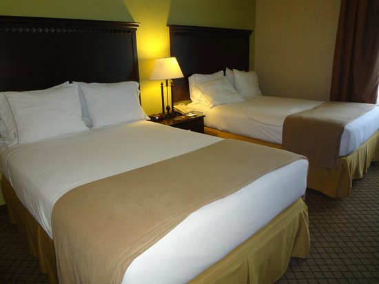 Holiday Inn Express Hotel & Suites Grand Rapids Airport: Beds