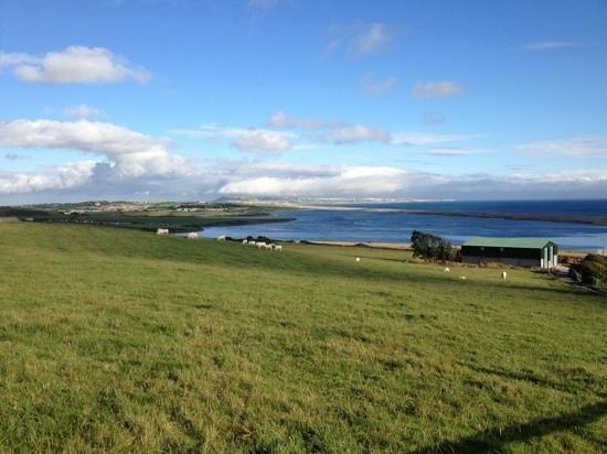 Sea Barn Farm: view looking east towards Weymouth