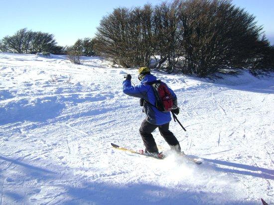 Club Andino Centro de Ski: Esquiando en las pistas