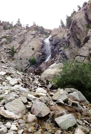 Agnes Vaille Falls : Falls at the top of the hike