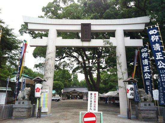 Kato Shrine: 入り口