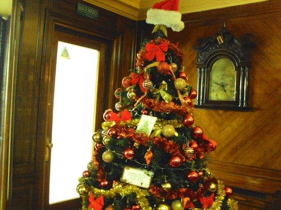 Hotel Lyon: Lobby en Diciembre 2012