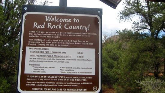Matterhorn Inn: red rock