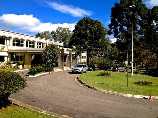 Samuara Hotel : Vista do quarto. De frente para a entrada.