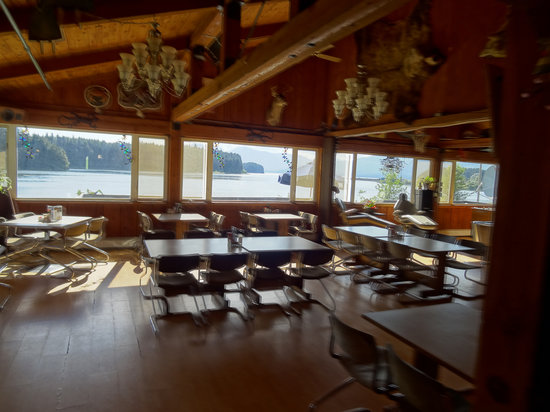 Icy Strait Lodge: View from restaurant