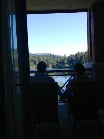 Nita Lake Lodge: View from our room