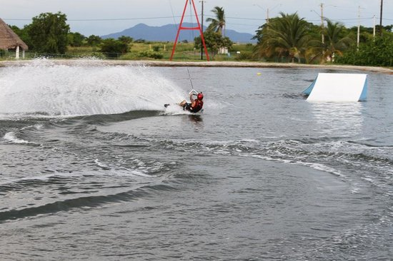 Nitro City Panama Action Sports Resort : The wake boarding cable park was so much fun!