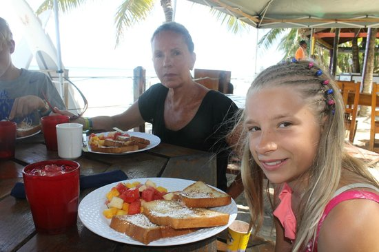 Island Pearl: One of our many amazing breakfasts!