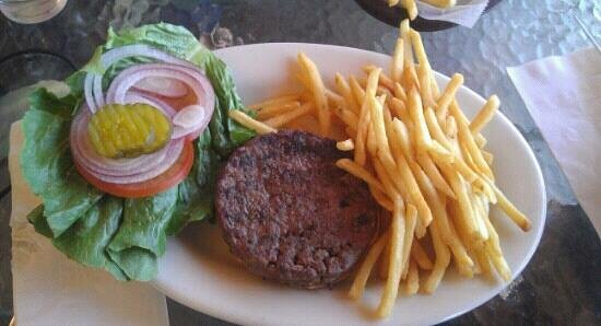 Panamint Springs Resort Restaurant: one hamburger