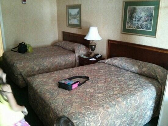 Clarion Inn Willow River: standard fair 2 queen beds room