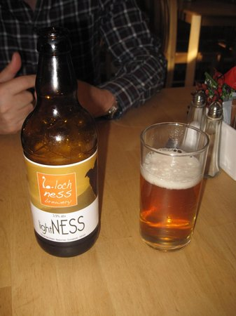 Scots Kitchen: The local Ale Light Ness