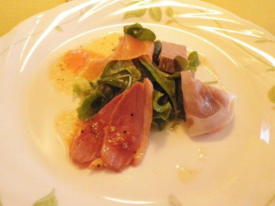 Reflet's Kusatsu: 夕食