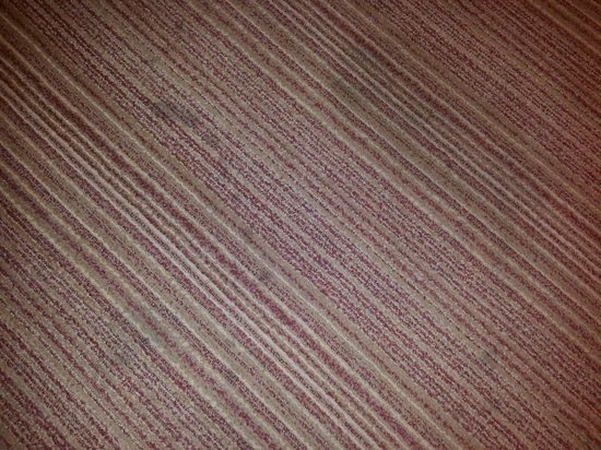 Courtyard by Marriott Chicago Downtown/Magnificent Mile: Stained carpet - was much deeper than it looks