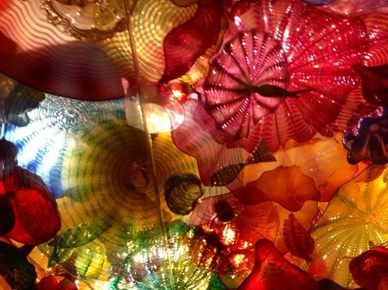Chihuly Garden and Glass: magical ceiling