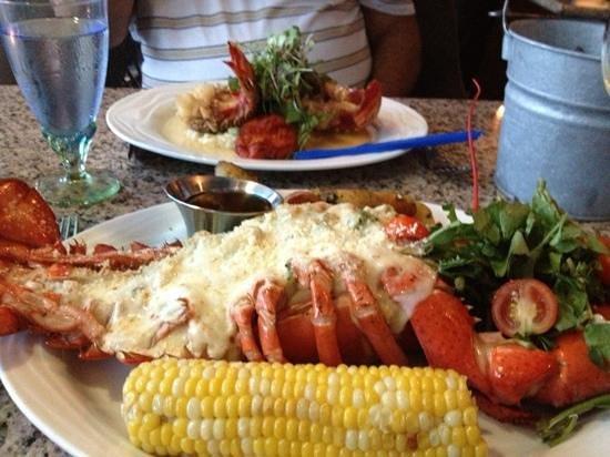 Jellyfish Restaurant: stuffed lobster...yummy!