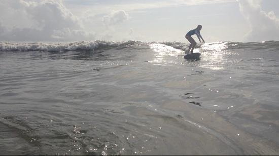 Jax Surf and Paddle: after two lessons!