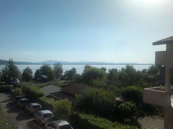 Ali Sul Lago Hotel Residence: vista lago dalla camera