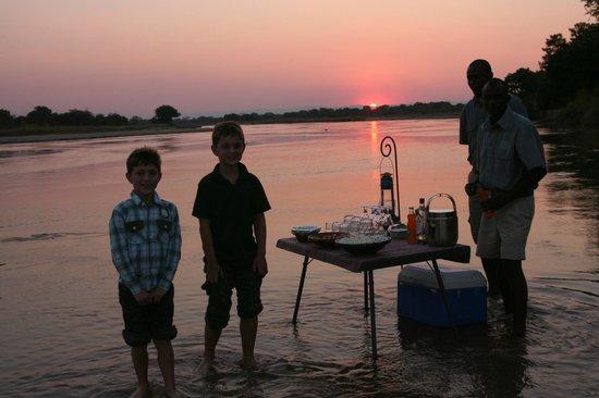 Kapamba Bushcamp - The Bushcamp Company: Lovely sunset