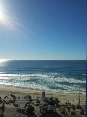 Surfers International: View from the balcony