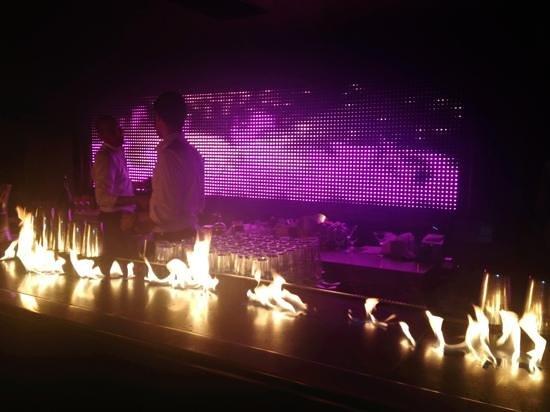 Baoli Beach Restaurant : un bancone...scenografico