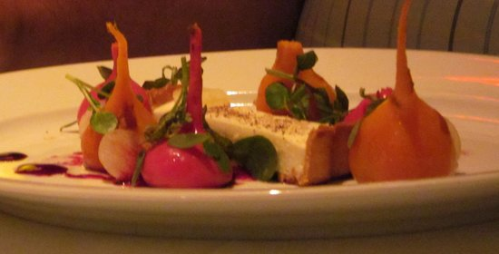 The Lambs Club: Roasted beets appetizer