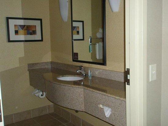 Sleep Inn & Suites: NICE sink
