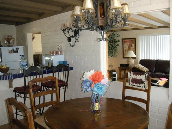 The Casitas at Smokey Springs Ranch: unique, southwestern decorations