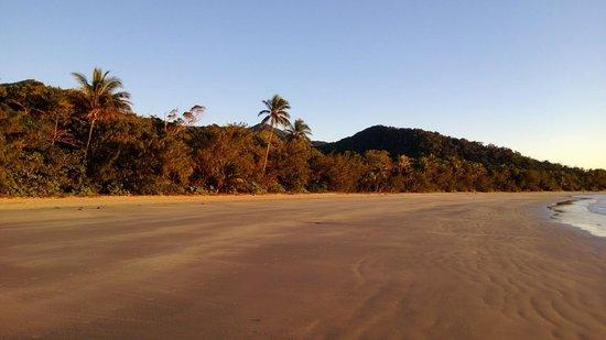 Cape Trib Camping: The Beach