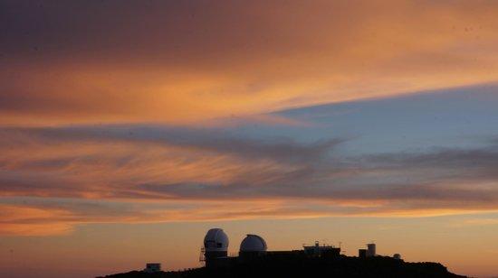 Haleakala Crater: Einige Minunten nach dem Sonnenuntergang