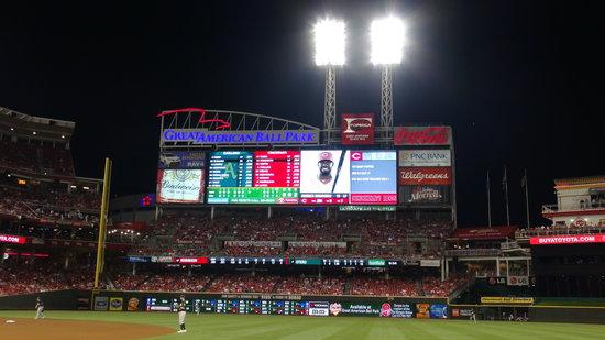Cincinnati Reds Hall of Fame & Museum: Info Board