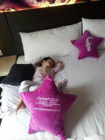 Fame Hotel Gading Serpong: sleep ... zzzzzzzz