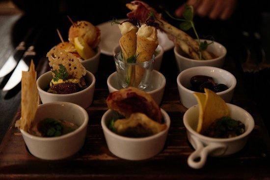 Tapas platter for two - Picture of Zibibbo Restaurant & Bar ...