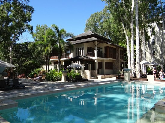 Pullman Palm Cove Sea Temple Resort & Spa: pool view