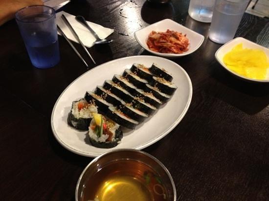 Jjang Restaurant: kimbap
