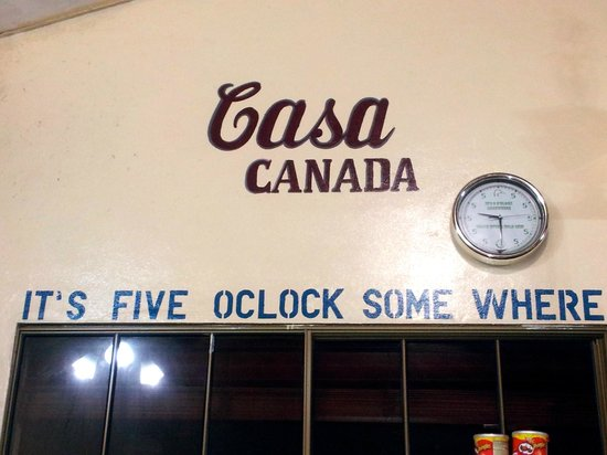 Casa Canada: our motto for the week