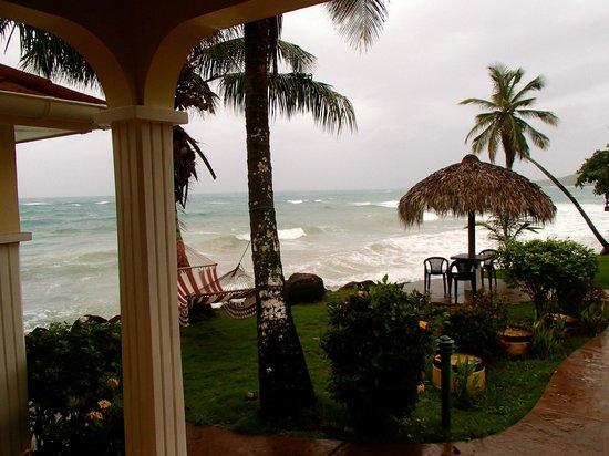 Casa Canada: view at breakfast
