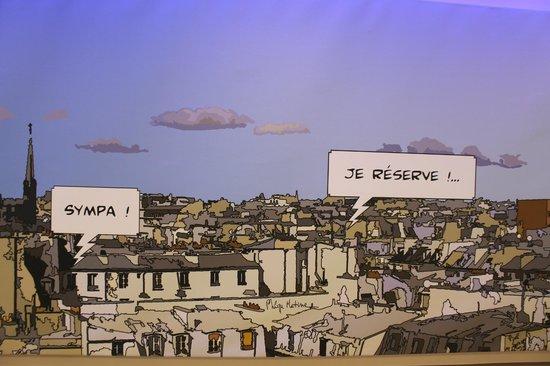 Hotel De Paris Dijon : Reception