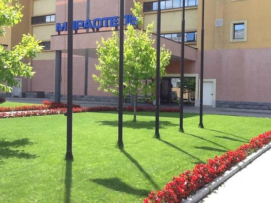 Mira Hotel : Nearby area is well done