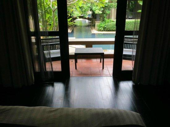 Montra Hotel: Вид с кровати