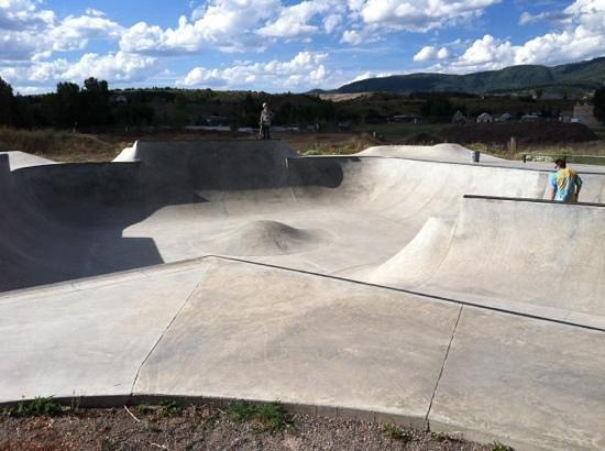Bear River Park: skate park