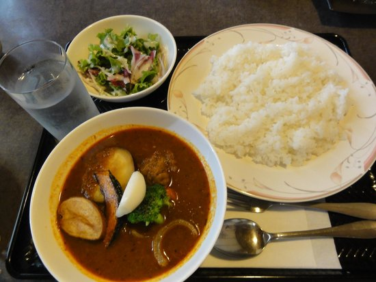 Sapporo Genghis Khan Menyou : スープカレー