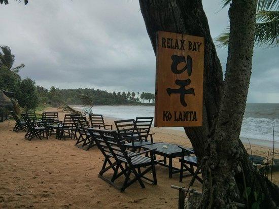 Relax Bay Resort: Beach club